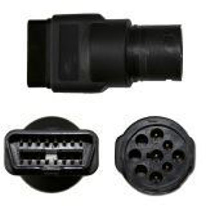 Picture of OBD II to Deutsch 9-Pin Connector