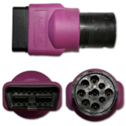 Picture of Volvo OBD II to Deutsch 9-Pin Connector