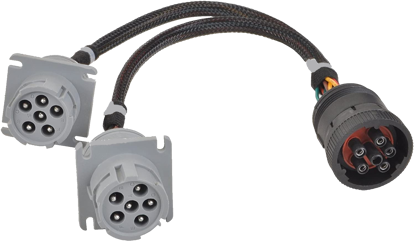 Picture of 6-Pin Adapter Y Cable